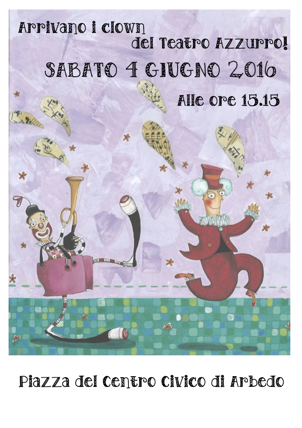 Clown del Teatro Azzurro - sabato 4 giugno 2016
